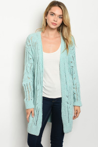 S15-2-2-S3366 MINT SWEATER 2-2-2