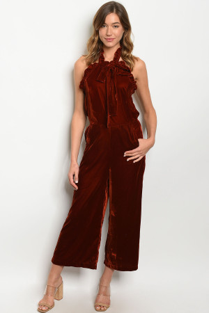 S18-4-4-J1344 BRICK JUMPSUIT 3-2-1