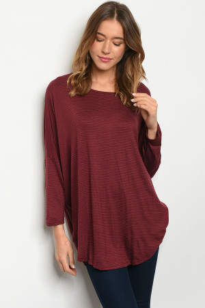C89-A-2-T7952 BURGUNDY TOP 2-2-2