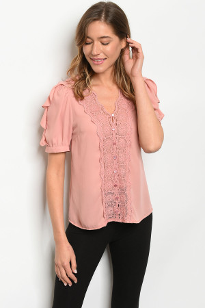 S7-7-3-T10350 DUSTY PINK TOP 2-2-2