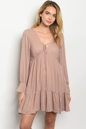 S6-10-2-D5066 MAUVE GOLD DRESS 2-2-2