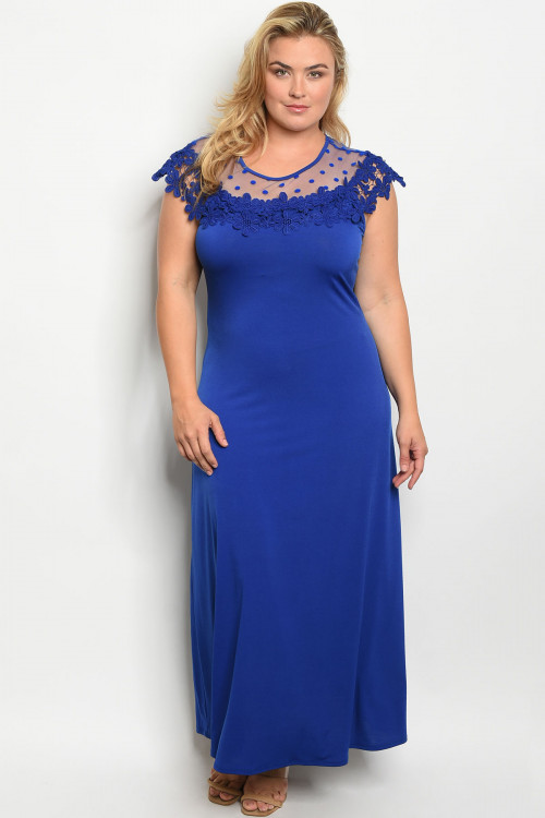C78-A-3-D6816X ROYAL PLUS SIZE DRESS 2-2-2