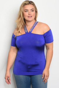 C71-B-3-T6855X ROYAL PLUS SIZE TOP 2-2-2