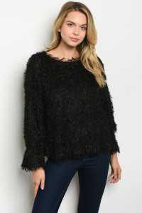 S22-1-3-T14353 BLACK SWEATER 2-2-2
