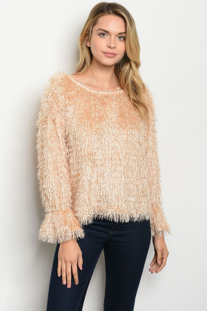 S22-1-2-T14353 CHAMPAGNE SWEATER 2-2-2