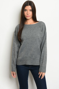 S18-2-4-S121639 CHARCOAL SWEATER 2-2-2