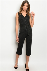 C22-A-3-J2375 BLACK JUMPSUIT 2-2-2