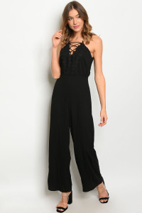 S5-7-4-J3008 BLACK JUMPSUIT 2-2-2