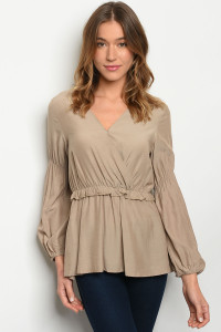 S5-8-4-T5735 TAUPE TOP 2-2-2