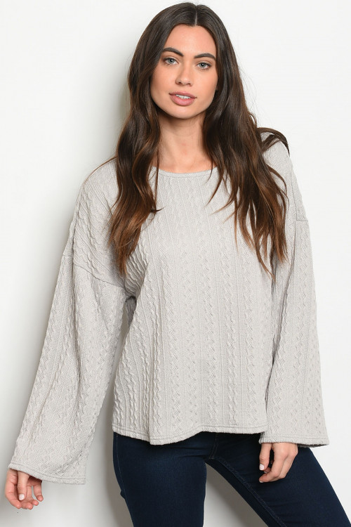 S6-1-3-T24629 GREY SWEATER 2-2-2