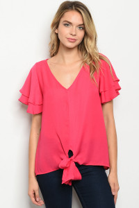 C29-A-4-T51481 FUCHSIA TOP 2-2-2
