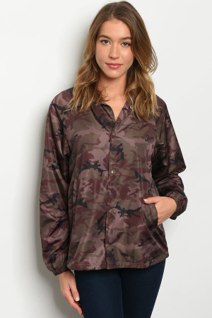 S6-10-4-J60154 BROWN CAMOUFLAGE JACKET 3-2-1