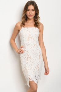 S22-13-3-D73986 WHITE NUDE DRESS 2-2-2