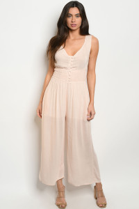 S10-20-2-J19484 BLUSH JUMPSUIT / 3PCS