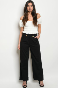 S15-12-3-P19004 BLACK PANTS / 3PCS