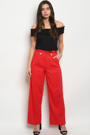 S7-8-4-P19004 RED PANTS 2-2-2