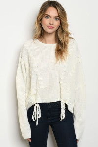 S25-8-1-S06034 IVORY SWEATER 2-2-2
