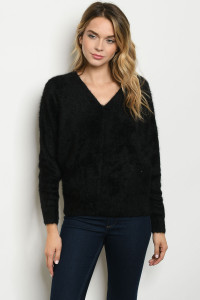 S15-10-4-S0155 BLACK SWEATER 2-3-2-1