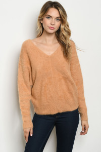 S15-10-4-S0155 TAUPE SWEATER 1-2-1