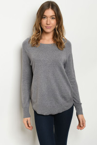 S13-12-1-S15352 GRAY SWEATER 3-2-1