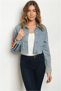 S23-2-2-J74701 LIGHT DENIM JACKET 1-2-2-1
