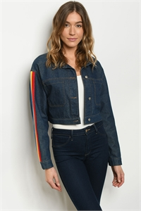 S23-2-2-J74701 DARK DENIM JACKET 1-2-2-1