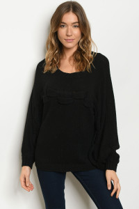 S23-1-1-S222565 BLACK SWEATER 2-2-2