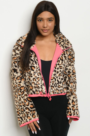 S25-8-1-J8471 CREAM LEOPARD PRINT JACKET 1-1-1-1