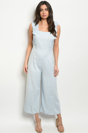 S19-12-2-J8346 BLUE JUMPSUIT 3-1-2
