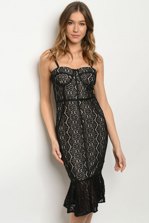 S12-12-1-D30247 BLACK NUDE DRESS 1-2-2-1