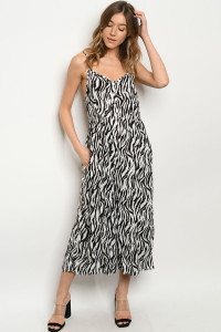 S22-12-2-J5359 BLACK WHITE JUMPSUIT 1-2-2-1