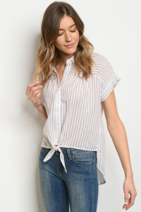 S15-11-5-T1284 TAN STRIPES TOP 3-2-1