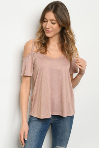 C85-B-3-T3000 BLUSH WASHED TOP 2-2-2