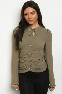 S9-15-5-T5542 OLIVE TOP 3-2-1