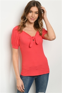 C67-A-6-T51184 CORAL TOP 2-2-2