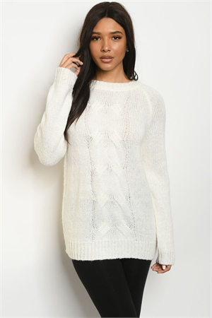 S25-8-1-S5504 IVORY SWEATER 2-2-2