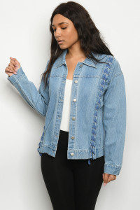 S19-11-3-J1383 BLUE DENIM JACKET 1-2