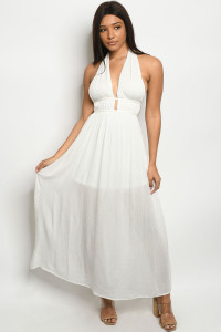 S18-10-2-D1083 OFF WHITE DRESS 3-2-2