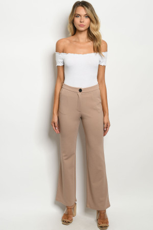 S14-4-1-P70096 TAUPE PANTS 2-2-2