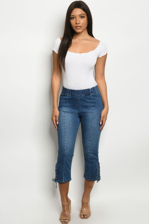 S8-5-1-J1290168 BLUE DENIM JEANS 1-2-2-3-2-1-1
