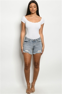 S9-15-3-S80157 BLUE DENIM SHORTS 1-2-2-3-2-1-1