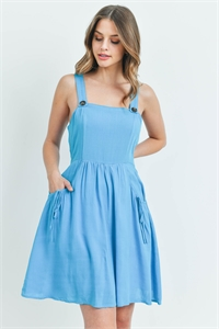 S7-9-1-D6614 TURQUOISE DRESS 2-2-2
