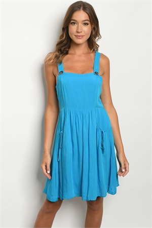 S17-12-4-D6614 TURQUOISE DRESS 1-1-1