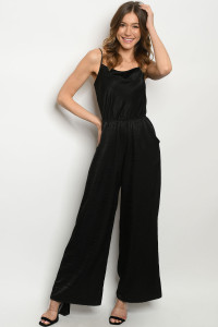 S13-2-4-J3044 BLACK JUMPSUIT 2-2-2