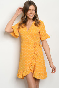 S10-19-1-D6829 YELLOW PRINT DRESS 3-2-2