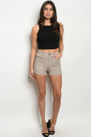 S10-20-2-S74449 TAUPE SHORT 4-2-1