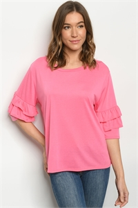 C21-B-2-T1709031 PINK TOP 2-2-2