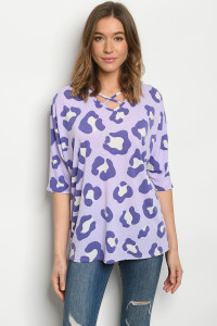 C36-A-1-T5143S LILAC PURPLE TOP 2-2-2