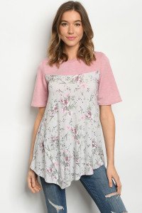 C92-A-1-T5157S PINK GREY TOP 3-2-2