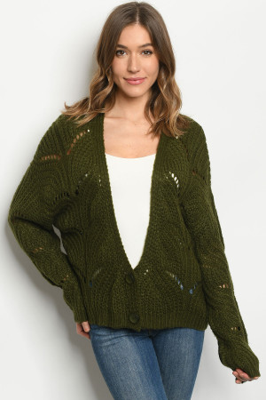 S12-7-2-S181727 OLIVE SWEATER 3-3